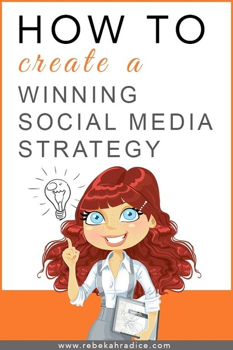 10 Steps to Creating a Winning Social Media Strategy | Small Business Marketing & PR | Scoop.it
