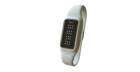 Fingers On - Braille generating wearable | 21st Century Craft & Pride | Scoop.it