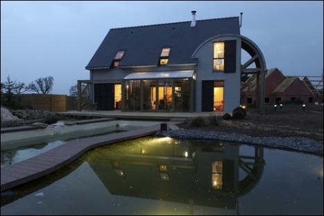 [inspiration] Une maison bioclimatique et organique en Bretagne | Immobilier | Scoop.it