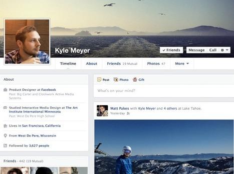 Facebook anuncia el rediseño de la línea cronológica para hacerla más personal | cirissmill@s | Scoop.it