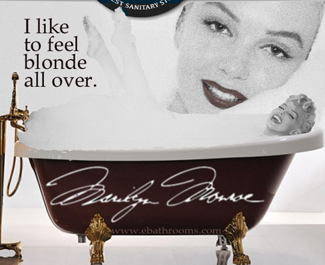 eBathrooms' luxury tubs give you that blonde feeling | Colour Label Printers | Scoop.it