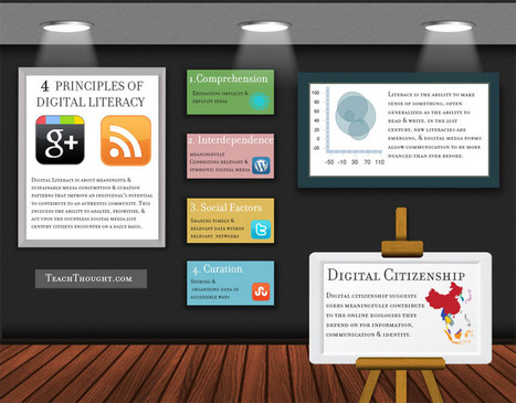 4 Principals Of Digital Literacy | Digital Citizenship | Scoop.it