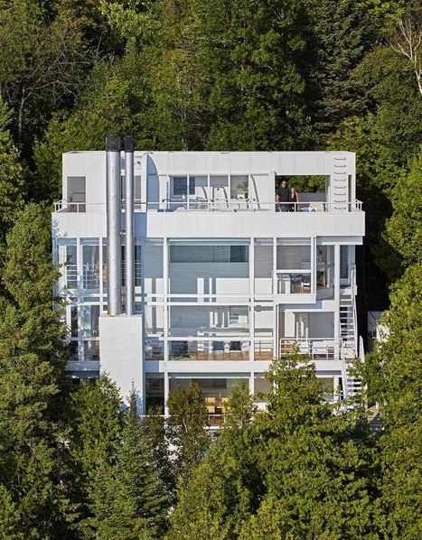 Richard Meier's Douglas House in Michigan receives HISTORICAL Designation | The Architecture of the City | Scoop.it