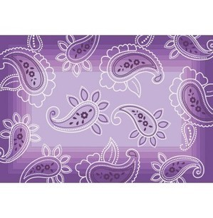 Central Oriental Kid's Carved Acrylic Purple Polyester 3666.9 Rug - KIDS | Kids Rugs | Scoop.it