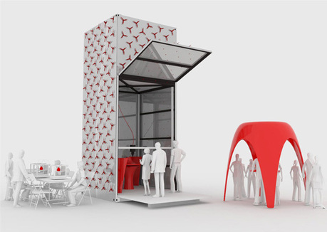 A Movable 3D Printer That Prints Architecture | 3D Printing and Fabbing | Scoop.it