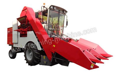 Three-row Self-propelled Corn Harvester, Corn Combine Harvester | Farming Machine | Scoop.it