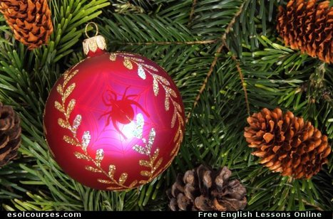 The Legend of The Xmas Spider | Topical English Activities | Scoop.it