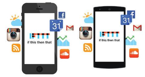 10 recetas de IFTTT para actualizar tus redes sociales | Aulatech | Scoop.it