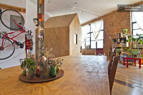 Une chambre à louer dans un loft à New York | DecoCrush blog déco, idées déco | décoration & déco | Scoop.it