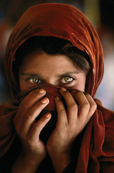 Iconic photo of Afghan girl almost wasn't published | Video on TODAY.com | the Brian of a woman and a Man | Scoop.it