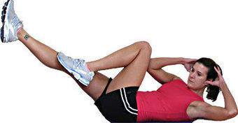 Bicycle Stomach Crunches | Best Flat Stomach Exercises | Scoop.it