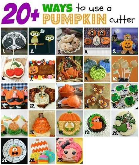 Pumpkin Cutter, not just for pumpkin cookies :) | Halloween & Spooky Fun Stuff~ | Scoop.it