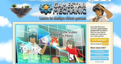 Gamestar Mechanic - Learn to Design Video Games | Learning Games | Scoop.it