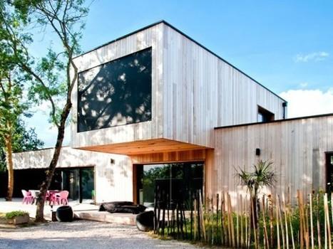 Une maison d'architecte construite entre les arbres | Construire sa maison avec un architecte | Scoop.it