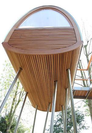 Une Cabane dans les arbres par Baumraum decodesign / Décoration | Déco & tendances contemporaines | Scoop.it