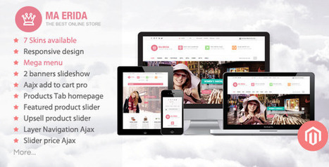 Best Magento Fashion Themes Responsive 30+ ~ Free WordPress Themes - WP Themes Daddy   Free Wordpress Themes   Scoop.it
