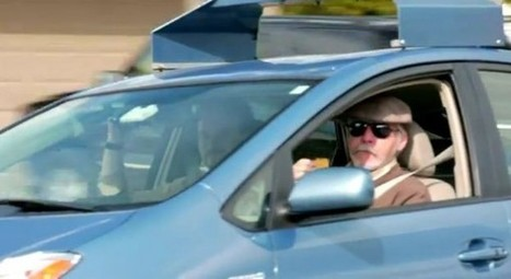 """Blind Man Is First """"Driver"""" Of Google's Self-Driving Car & Why It Was Legal 