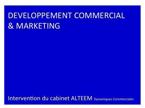 LE DEVELOPPEMENT COMMERCIAL DE SON ENTREPRISE - Intervention du cabinet ALTEEM | Développement Marketing | Scoop.it
