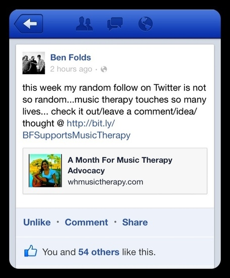 How You Can Get Involved in Music Therapy Social Media Advocacy | Social Media Article Sharing | Scoop.it