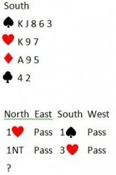 Finding An 8 Card Fit After Partner's NT Rebid « How To Play Bridge | Learn Acol Bridge | Scoop.it