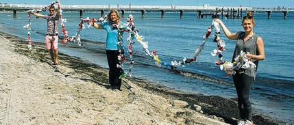 Rekord-Versuch gegen den Plastik-Müll im Meer - Lübecker Nachrichten | Plastikinsel | Scoop.it