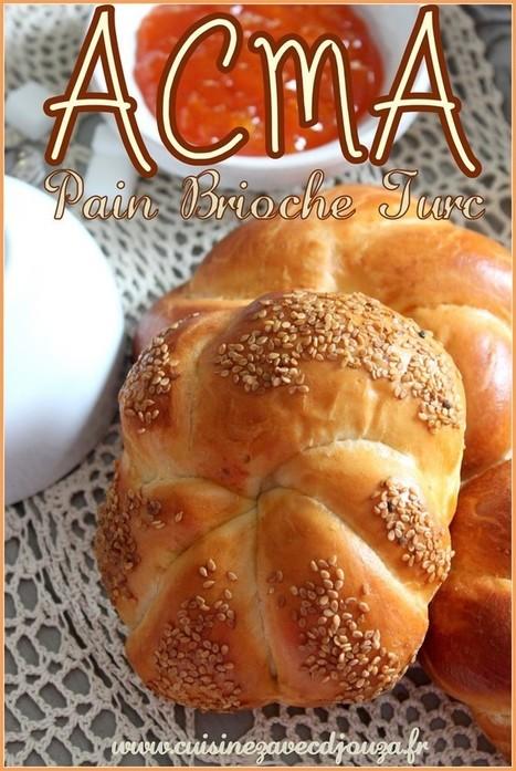 Acma Tarifi pain turc brioche   La cuisine de Djouza recettes faciles et rapides   Boulange   Scoop.it