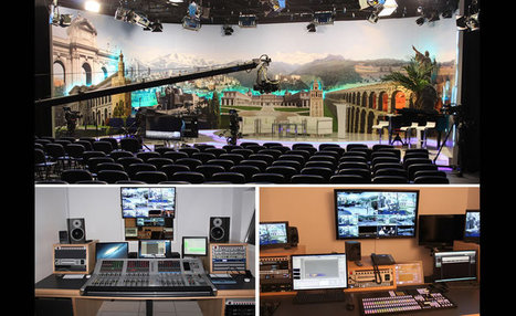 Datos Media Completes New HD Production Centre for Worldwide Broadcaster TBN | HD Proguide | Broadcast Engineering Notes | Scoop.it