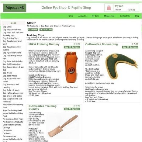 Toys for serious Dog training or Fun | Hamster Cage Faringdon,Cat Collars Faringdon,Exo Terra Faringdon | Scoop.it