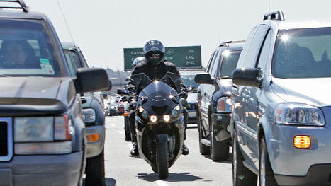 California becomes first state to officially legalize motorcycle lane splitting | Criminology and Economic Theory | Scoop.it