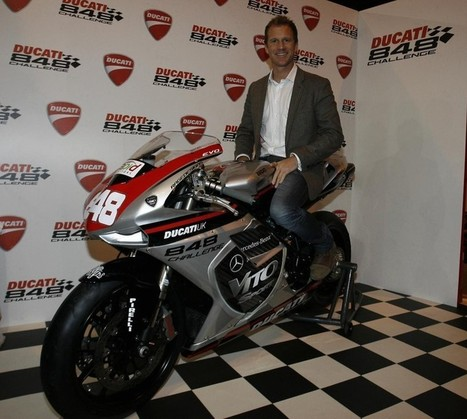 DUCATI UK ANNOUNCE NEIL HODGSON AS DUCATI 848 ...   Ductalk Ducati News   Scoop.it