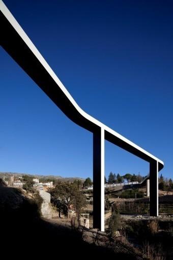 Pedestrian Bridge Over The Carpinteira - Minimalissimo | tmt | Scoop.it