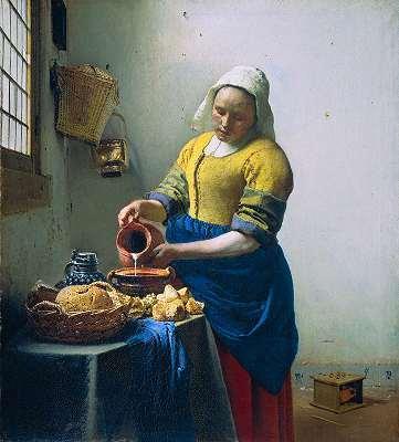 La laitière de Vermeer -De l'art et du cochon -ARTE | Arts et FLE | Scoop.it