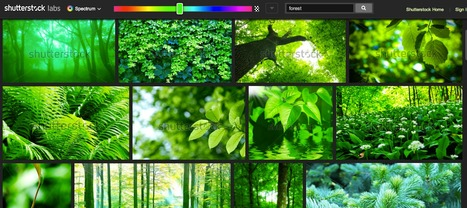 Spectrum - Search Images by Colour - Shutterstock   hobbitlibrarianscoops   Scoop.it