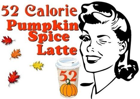 52 Calorie Pumpkin Spice Latte! - My Personal Accent | Recipes | Scoop.it