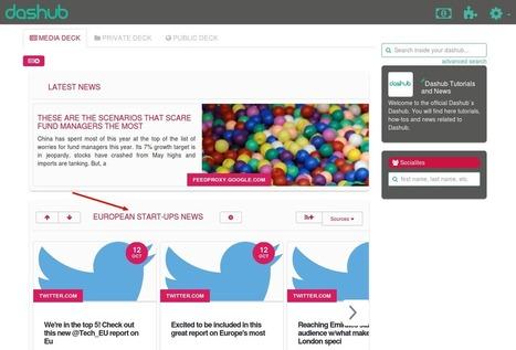 Dashub. Outil de veille, curation et diffusion de l'information | Outils Social Media | Scoop.it