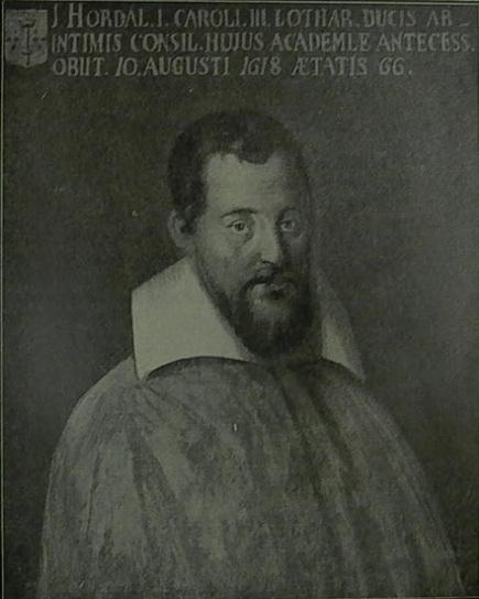 Tout sur la généalogie: Jean I GEORGES dit HORDAL, professeur en droit civil et canon dans l'université de Pont-à-Mousson   Rhit Genealogie   Scoop.it