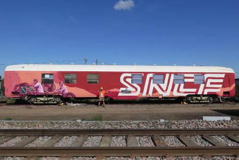 Kegrea peint un wholecar légal pour la SNCF | Construction et gestion d'installations temporaires | Scoop.it