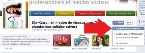Facebook lance les notifications pour les pages [Nouveau] | Quand la communication passe au web | Scoop.it