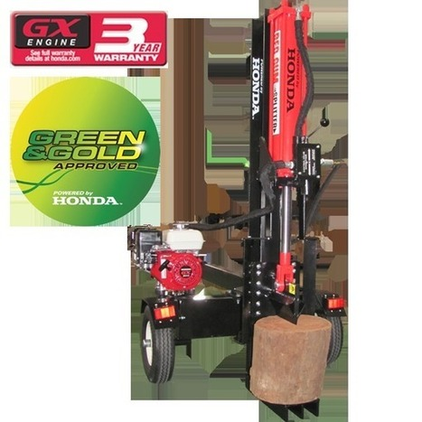 How To Use A Hydraulic Log Splitter - Outdoor Power Products | Home and Garden Tips | Scoop.it