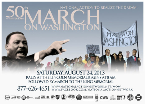The planned March on Washington, 2013   Community Village Daily   Scoop.it
