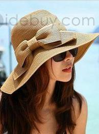 Artistic New Arrival Bow Knot Double-Deck Summer Hat | modern time | Scoop.it