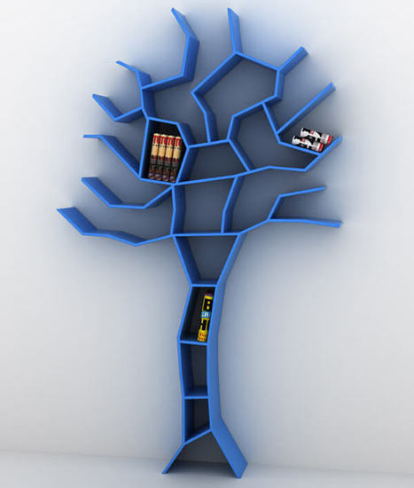 Cool Stylish Tree Shape Bookshelves designs Collection | World Important days and Events | Scoop.it