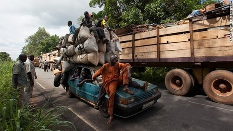 Mother shot on the road to safety, victim of Central African Republic violence | 1st | Scoop.it