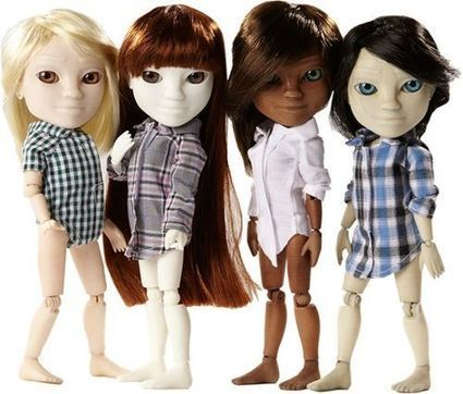 3D Dolls + the Internet = a Paradigm Buster - Global Toy News | Cool Things for kids | Scoop.it