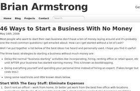 46 Ways To Start A Business With No Money | Small Business Issues | Scoop.it