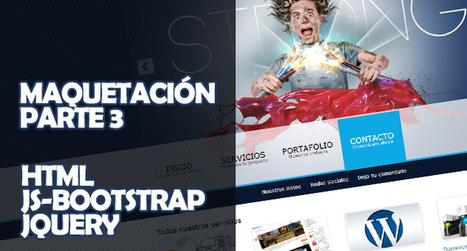 Maquetación de diseño web – Parte 3 (HTML + JS-Bootstrap + jQuery) | CSS3 & HTML5 | Scoop.it