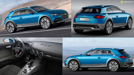 Maxabout: Audi Crossover Coupe Concept | No Trunks Allowed | Scoop.it