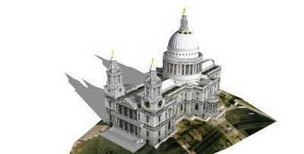 St Pauls Cathedral by Damo - 3D Warehouse | 3D Model | Scoop.it