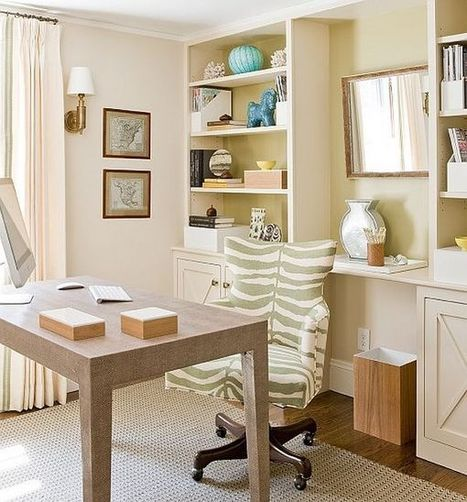 16 Home Office Design Ideas | Design | News, E-learning, Architecture of the future at news.arcilook.com | Architecture e-learning | Scoop.it