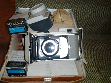 1950s Polaroid Camera | Antiques & Vintage Collectibles | Scoop.it